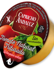 Tarrina Tomate Natural Triturado